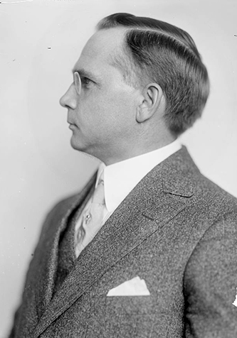 A photograph of William Alexander Graham (1873-1943) taken sometime after 1905. Image from the Library of Congress.
