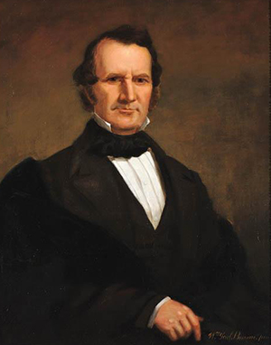 Portrait of William Alexander Graham by William Garl Browne, circa 1845-1875. Image from the North Carolina Museum of History.