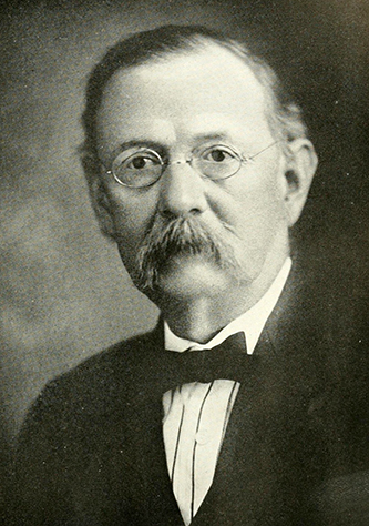 A photograph of Dr. Samuel Andrew Grier published in 1919. Image from the Internet Archive.