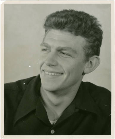 Andy Griffith. Image courtesy of the North Carolina Digital Collections, UNC Libraries.