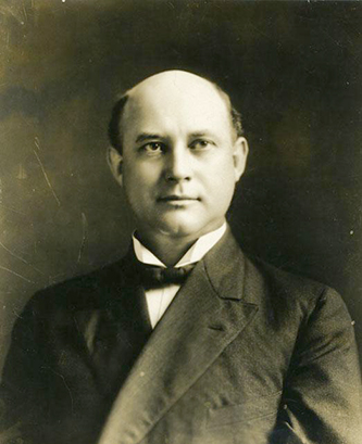 A photograph of John Bryan Grimes. Image from the North Carolina Museum of History.