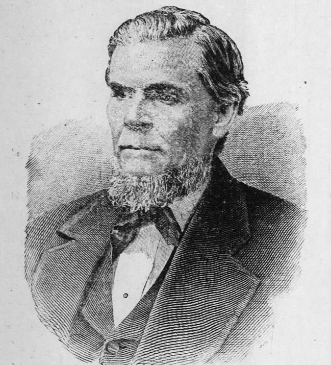 Portrait of Willis Napoleon Hackney, from the Wilson Advance (Wilson, NC), November 11, 1897.