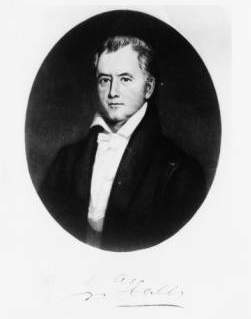 John Hall. Image courtesy of the North Carolina Digital Collections.
