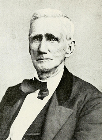 A photograph of James Harper (1799-1879) published in 1919. Image from the Internet Archive.