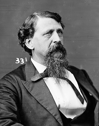 """Hon. Geo. E. Harris of Miss."". Photograph. [between 1860 and 1875]. LC-BH83- 331. Brady-Handy Photograph Collection. Prints and Photographs Division, Library of Congress."