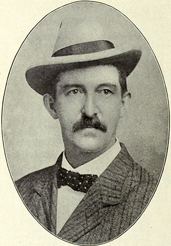 A photograph of Wade Hampton Harris published in 1911. Image from the Internet Archive.