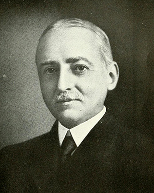 Photograph of Ernest Haywood, circa 1919. Image from Archive.org.