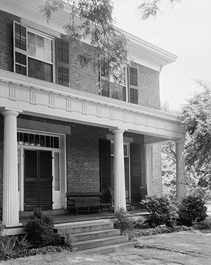 The Richard B. Haywood house in Raleigh, between 1935 and 1938. It was added to the National Register of Historic Places in 1970. Image from the Library of Congress.