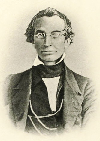 Professor Nicholas Marcellus Hentz (1797-1856). Image from Archive.org.