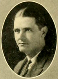 A photograph of Herbert James Herring from the 1925 Duke University yearbook. Image from the University of North Carolina at Chapel Hill.