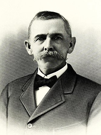 An engraving of Lovit Hines published in 1917. Image from the Internet Archive / N.C. Goverment & Heritage Library.