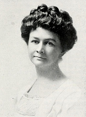 Photograph of Mary Hilliard Hinton from 1914. Image from the North Carolina Digital Collections.