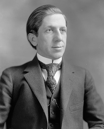 Photograph of Clyde Roark Hoey. Image from the Library of Congress.