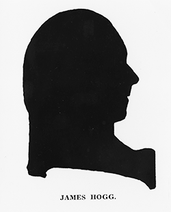 Silhouette of James Hogg. Image courtesy of the North Carolina Collection, University of North Carolina at Chapel Hill Library.