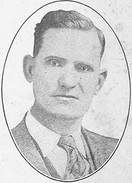 An image of Hiram Tyram Hunter published in 1930. Image from the Internet Archive.