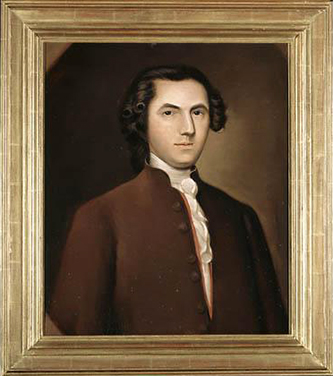 Modern copy of an original portrait of Edward Hyde. Image from the North Carolina Museum of History.