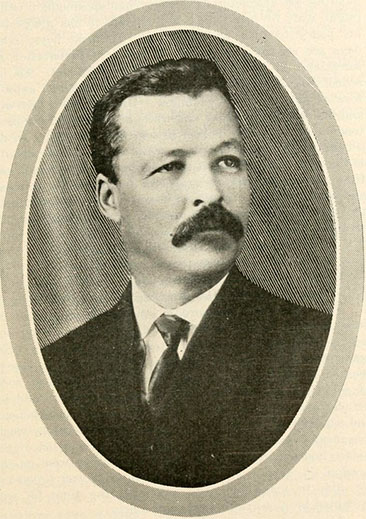 Portrait of Thomas Sewell Inborden.  From A. B. Caldwell's <i>History of the American Negro and His Institutions,</i> Volume IV, published by A. B. Caldwell Publishing, Atlanta, G.A., 1921.
