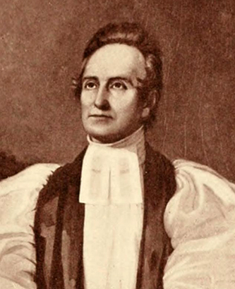 Portrait of Bishop Levi Silliman Ives from Haywood's Lives of the Bishops of North Carolina. Image from Archive.org.