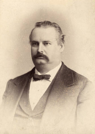 John Washington Graham. Image courtesy of The Carolina Story: A Virtual Museum of University History.