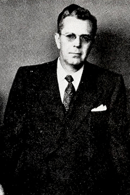 A photograph of Dr. Amos Neill Johnson, circa 1950-1956. Image from the Internet Archive / N.C. Government & Heritage Library.