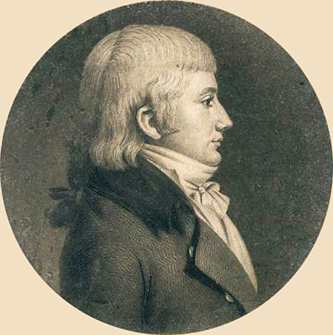 A portrait of James Cathcart Johnston done in 1801. Image from the National Portrait Gallery, Smithsonian Institution.
