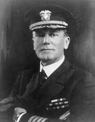 """Photo #: NH 48719 Captain Rufus Z. Johnston, USN."" Photograph. Circa 1929. U.S. Naval History and Heritage Command. United States Navy."
