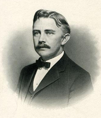 A 1907 engraving of James Yadkin Joyner. Image from the North Carolina Museum of History.