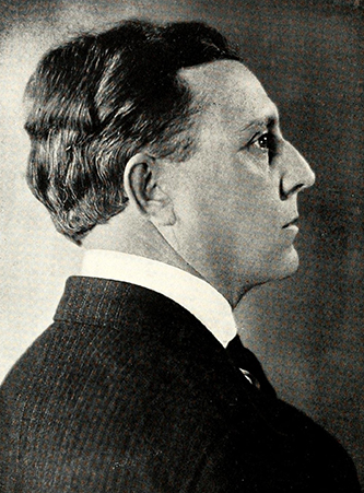 A photograph of Dr. Thurman D. Kitchin published in 1929. Image from the Internet Archive.