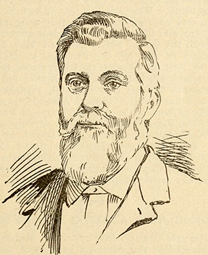 An engraving of William Hodge Kithin published in 1893. Image from the Internet Archive.