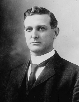 Photograph of William Walton Kitchin. Image from the Library of Congress.
