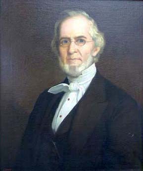 A copy of a William Garl Browne portrait of Drury Lacy Jr. by J. Bentz. Image from Davidson College.