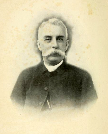 Portrait of William Sterling Lacy, unknown date. From <i>William Sterling Lacy: Memorial Addresses, Sermons,</i> published 1900, Presbyterian Committee on Publication, Richmond, Virginia.  Presented on Archive.org.