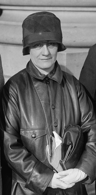 Katherine Emeline Gudger Langley, January 8, 1927. Image from the Library of Congress.