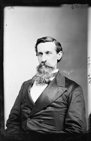 The Hon. James Madison Leach of N.C. Lt. Col. in the Confederate Army, photograph ca. 1865-1880, attributed to Brady-Handy.  From the Brady-Handy Collection, Library of Congress Prints & Photographs Online Catalog.