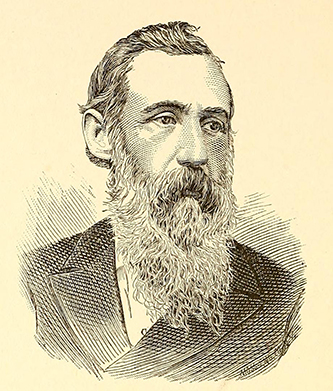 An engraving of Richard Henry Lewis (1832-1917) published in 1886. Image from the Internet Archive.