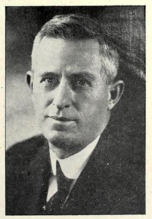 Photograph of G. E. Lineberry, Superintendent North Carolina School for the Blind and the Deaf.  From <i>Outlook for the Blind,</i> Vol. XVI, No. 2 (Summer 1922), published by the Massachusetts Association for the Blind.
