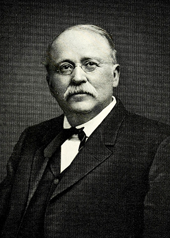 An engraving of Jacob Alson Long published in 1917. Image from the Internet Archive / N.C. Goverment & Heritage Library.