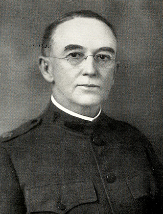 A photograph of Dr. John Wesley Long published in 1923. Image from the Internet Archive.