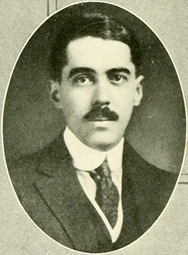 A photograph of William Lunsford Long published in 1921. Image from the University of North Carolina at Chapel Hill.
