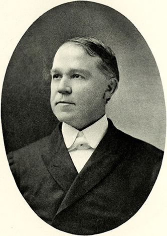 A photograph of William Samuel Long published in 1917. Image from the Internet Archive / N.C. Goverment & Heritage Library.