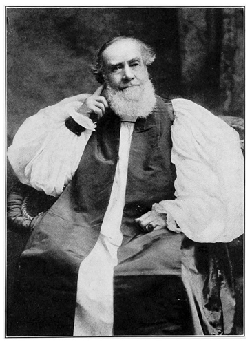 Portrait of Theodore Benedict Lyman, Fourth Bishop of North Carolina.  From Marshall De Lancey Haywood's <i>Lives of the Bishops of North Carolina,</i> p. 207, published 1910 by Alfred Williams & Company, Raleigh, North Carolina.  Presented on Archive.org.