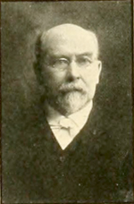 A photograph of James Cameron MacRae published in the 1907 University of North Carolina yearbook. Image from the Internet Archive.