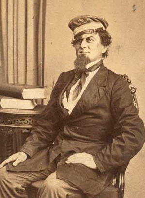 Confederate Navy captain John Newland Maffitt. Image from the North Carolina Museum of History.