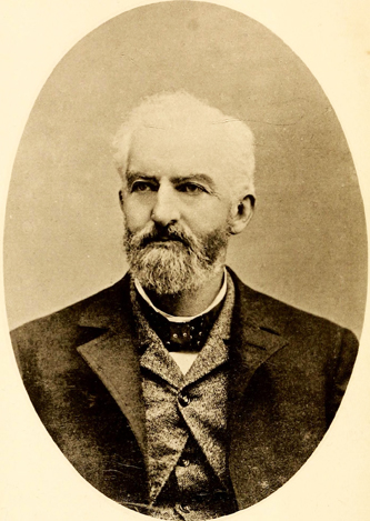 Photograph of Dr. William Peter Mallett. Image from Archive.org.