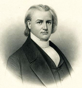 Engraving of Charles Manly. Image from the North Carolina Museum of History.