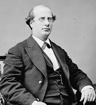 A photograph of John Manning, Jr., between 1860 and 1875. Image from the Library of Congress.