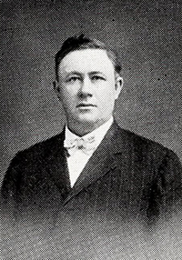 A photograph of Dr. Louis Burgin McBrayer. Image from the Internet Archive / N.C. Government & Heritage Library.