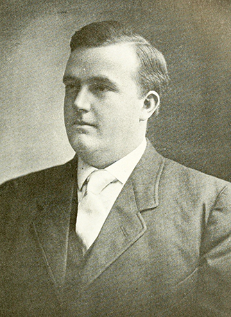 A photograph of Dr. Hugh White McCain published in 1919. Image from the Internet Archive.