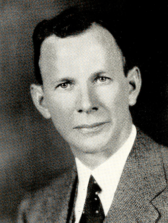 A photograph of Dr. Paul Pressly McCain published in 1935. Image from the Internet Archive.