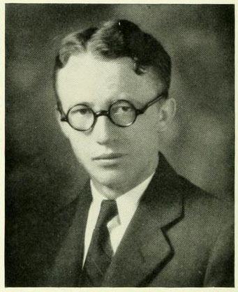 Senior portrait of Albert Bonner McClure.  From the Davidson College yearbook <i>Quips & Cranks</i>, Vol. 34, p. 64.  Published 1931 by the Senior Class of Davidson College, Davidson, N.C.  Used by permission from E. H. Little Library, Davidson College.